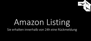 amazon listing erstellen lassen